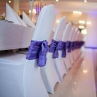 Kokardy dekoracyjne na krzesła