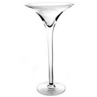 Świecznik – wazon szklany MARTINI 60 cm