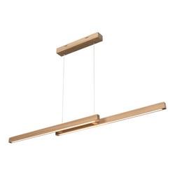Lampa Smal Double – Dąb, 150 cm (1509974)